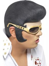 Elvis Headpiece With Shades